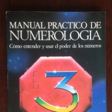 Livres d'occasion: MANUAL PRÁCTICO DE NUMEROLOGÍA PARAPSICOLOGÍA, CARTOMANCIA, ASTROLOGÍA, MATEMÁTICAS, QUIROMANCIA, . Lote 177189694