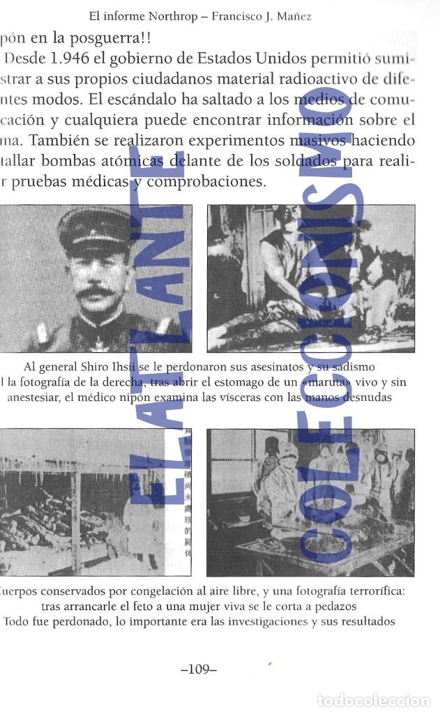 Libros de segunda mano: EL INFORME NORTHROP AERONAVES TERRESTRES TOMADAS POR EXTRATERRESTRES UFOS OVNIS UFOLOGÍA - 30 € - Foto 15 - 206184602