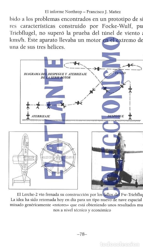Libros de segunda mano: EL INFORME NORTHROP AERONAVES TERRESTRES TOMADAS POR EXTRATERRESTRES UFOS OVNIS UFOLOGÍA - 30 € - Foto 16 - 206184602