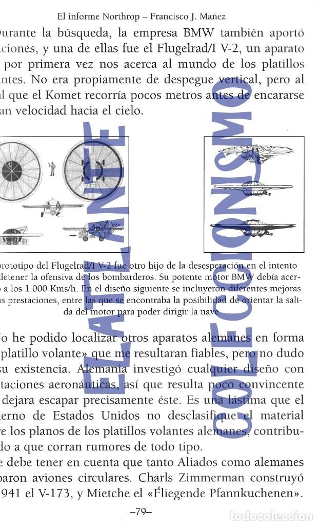 Libros de segunda mano: EL INFORME NORTHROP AERONAVES TERRESTRES TOMADAS POR EXTRATERRESTRES UFOS OVNIS UFOLOGÍA - 30 € - Foto 17 - 206184602