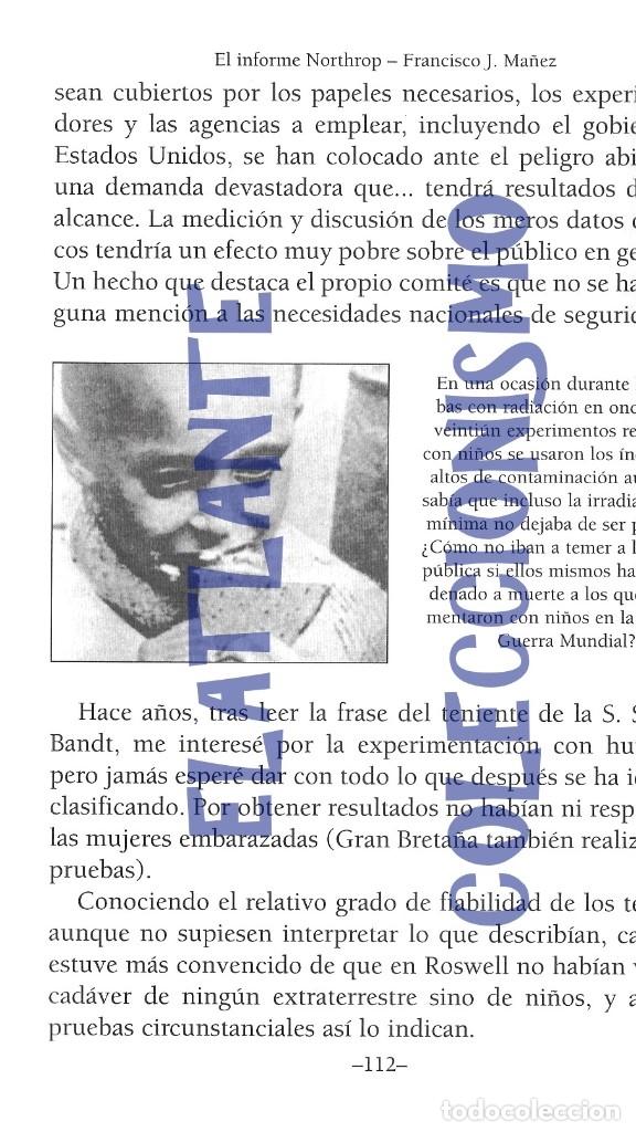 Libros de segunda mano: EL INFORME NORTHROP AERONAVES TERRESTRES TOMADAS POR EXTRATERRESTRES UFOS OVNIS UFOLOGÍA - 30 € - Foto 18 - 206184602