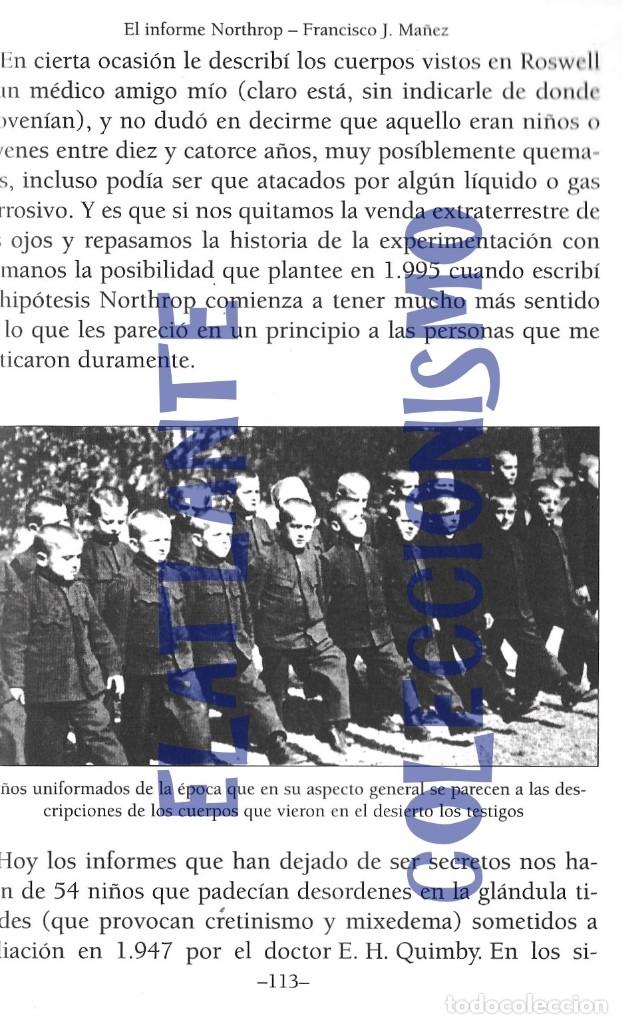 Libros de segunda mano: EL INFORME NORTHROP AERONAVES TERRESTRES TOMADAS POR EXTRATERRESTRES UFOS OVNIS UFOLOGÍA - 30 € - Foto 19 - 206184602