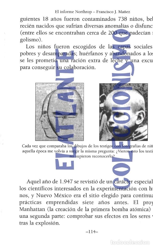 Libros de segunda mano: EL INFORME NORTHROP AERONAVES TERRESTRES TOMADAS POR EXTRATERRESTRES UFOS OVNIS UFOLOGÍA - 30 € - Foto 20 - 206184602
