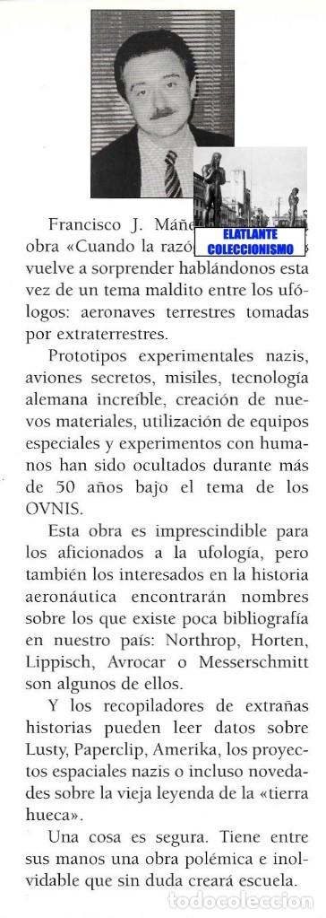 Libros de segunda mano: EL INFORME NORTHROP AERONAVES TERRESTRES TOMADAS POR EXTRATERRESTRES UFOS OVNIS UFOLOGÍA - 30 € - Foto 23 - 206184602