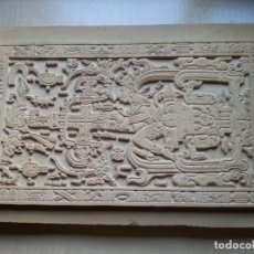 Libros de segunda mano: LOSA TUMBA EL ASTRONAUTA DE PALENQUE /ORIGINAL /HECHA A MANO EN PALENQUE/ MÉXICO/ EXTRATERRESTRES. Lote 177690965