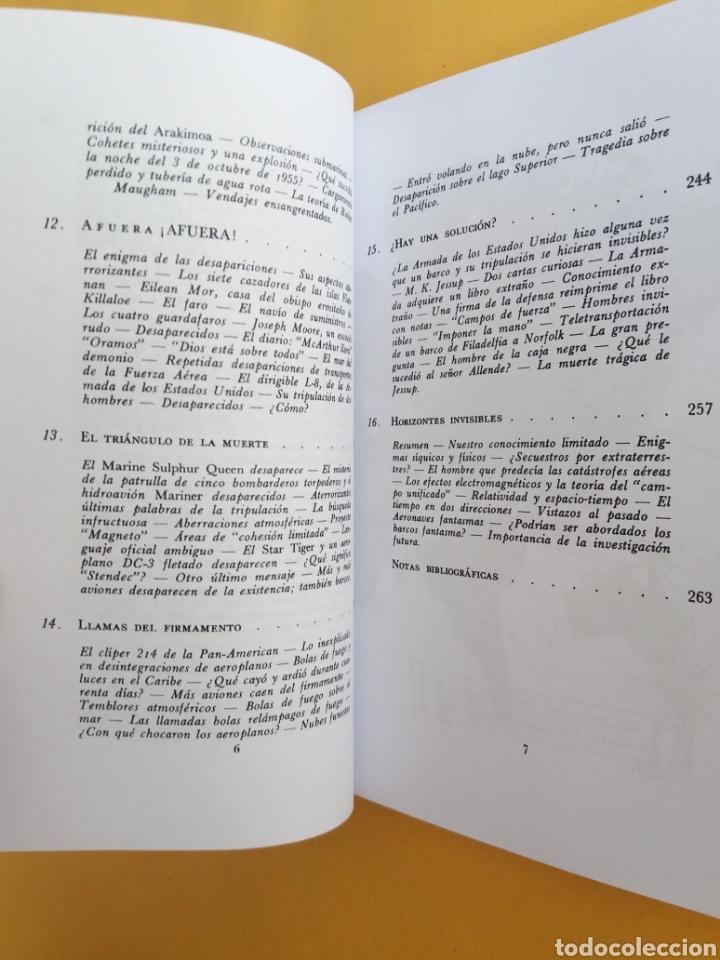 Libros de segunda mano: HORIZONTES INVISIBLES VINCENT GADDIS 1966 UFOLOGIA MISTERIOS ULTRARARO HIPERINTERESANTE - Foto 5 - 177808270
