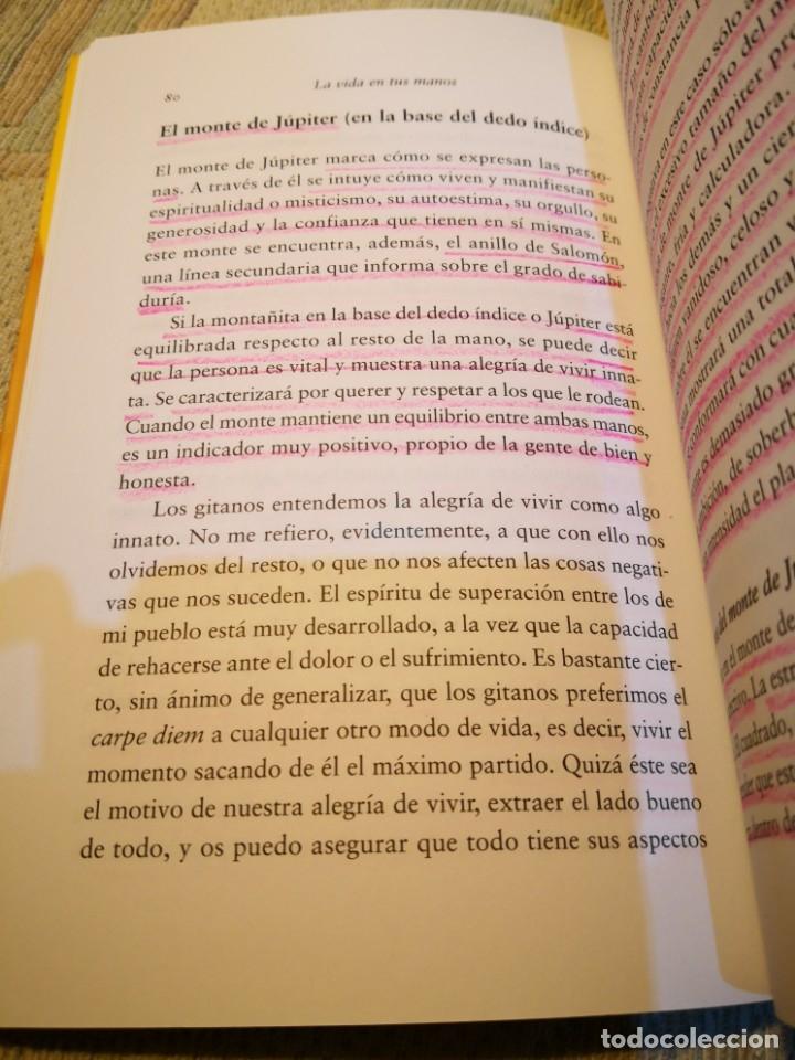 Libros de segunda mano: LA VIDA EN TUS MANOS APRENDE FACILMENTE LA QUIROMANCIA GITANA - MERCEDES PORRAS envío certif. 6,99 - Foto 3 - 177952719