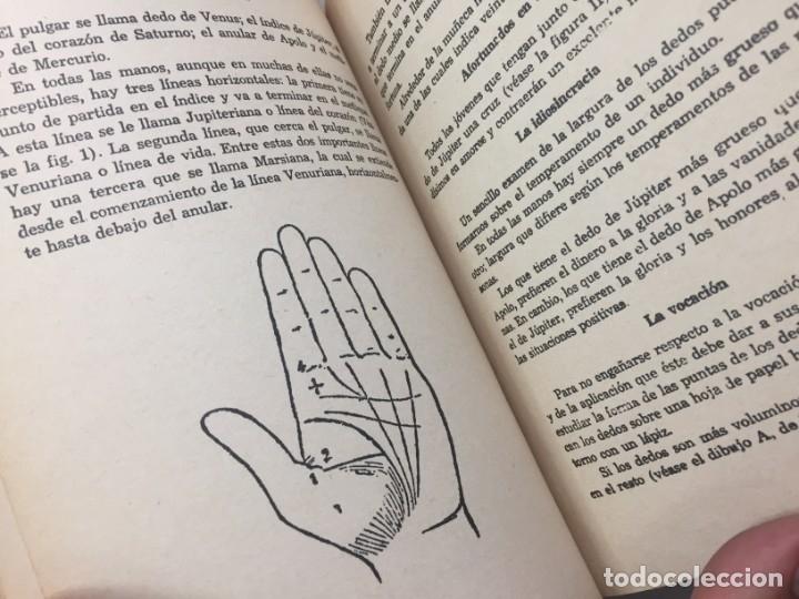 Libros de segunda mano: Tratado de ciencias ocultas. Williams Scott quiromancia México Sin fecha años 60 buen estado - Foto 8 - 178311641