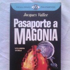 Libros de segunda mano: PASAPORTE A MAGONIA - JACQUES VALLÉE (COL. REALISMO FANTÁSTICO N.º 27, 1976). Lote 178197497