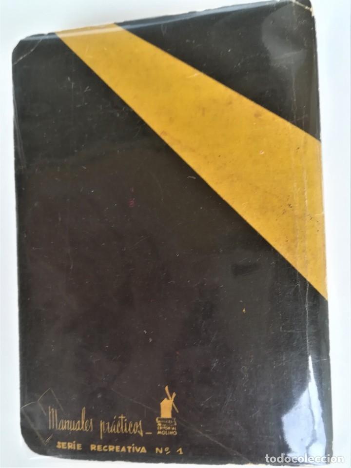 Libros de segunda mano: LIBRO, PRESTIDIGITACION,AÑO 1955, MAGIA Y MAGOS,TRUCOS Y COMO HACERLOS,DESCATALOGADO,ILUSIONISMO - Foto 2 - 178960647