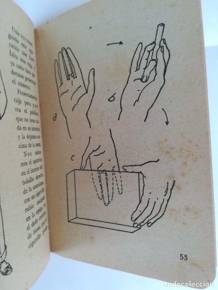 Libros de segunda mano: LIBRO, PRESTIDIGITACION,AÑO 1955, MAGIA Y MAGOS,TRUCOS Y COMO HACERLOS,DESCATALOGADO,ILUSIONISMO - Foto 5 - 178960647