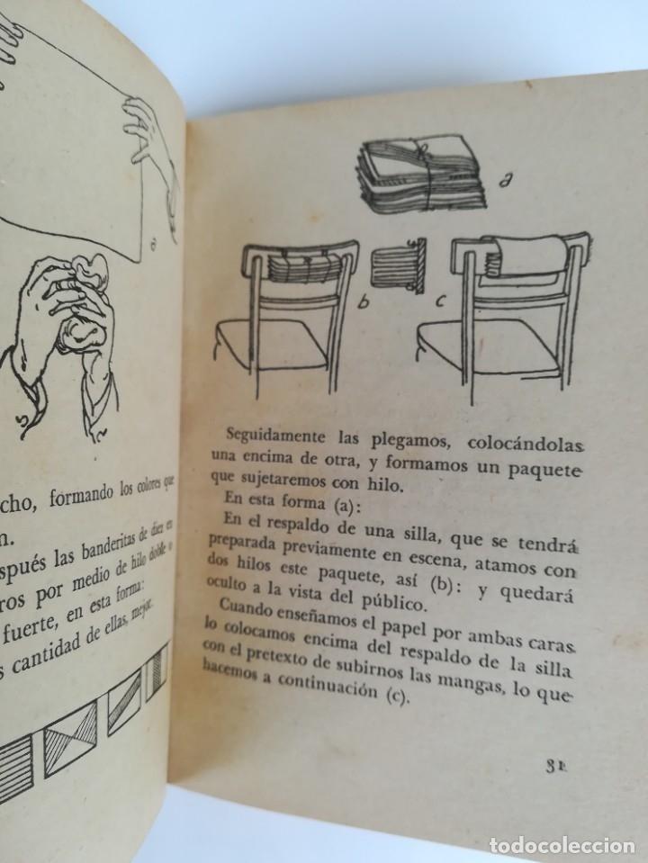 Libros de segunda mano: LIBRO, PRESTIDIGITACION,AÑO 1955, MAGIA Y MAGOS,TRUCOS Y COMO HACERLOS,DESCATALOGADO,ILUSIONISMO - Foto 6 - 178960647