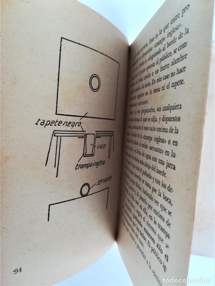 Libros de segunda mano: LIBRO, PRESTIDIGITACION,AÑO 1955, MAGIA Y MAGOS,TRUCOS Y COMO HACERLOS,DESCATALOGADO,ILUSIONISMO - Foto 8 - 178960647