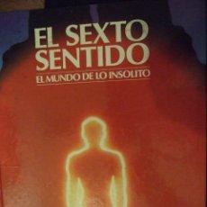 Libros de segunda mano: EL SEXTO SENTIDO , EL MUNDO DE LO INSOLITO - DEBATE CIRCULO DE LECTORES 1987 COLOR 100 PAG. Lote 179199181