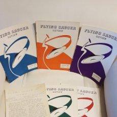 Libros de segunda mano: MÍTICA REVISTA UFOLÓGICA INGLESA FLYING SAUCER REVIEW - VOLUMEN 5 - Nº 1,2,3,4,5,6 - AÑO 1959- OVNIS. Lote 179550302