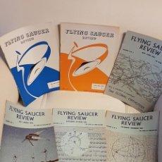 Libros de segunda mano: MÍTICA REVISTA UFOLÓGICA INGLESA FLYING SAUCER REVIEW - VOLUMEN 9 - Nº 1,2,3,4,5,6 - AÑO 1963- OVNIS. Lote 179551947