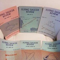 Libros de segunda mano: MÍTICA REVISTA UFOLÓGICA INGLESA FLYING SAUCER REVIEW - VOLUMEN 10 -Nº 1,2,3,4,5,6 - AÑO 1964- OVNIS. Lote 179552218