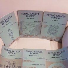Libros de segunda mano: MÍTICA REVISTA UFOLÓGICA INGLESA FLYING SAUCER REVIEW - VOLUMEN 11 -Nº 1,2,3,4,5,6 - AÑO 1965- OVNIS. Lote 179557581