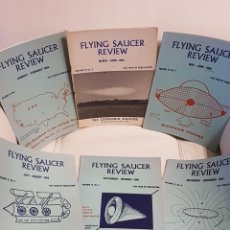 Libros de segunda mano: MÍTICA REVISTA UFOLÓGICA INGLESA FLYING SAUCER REVIEW - VOLUMEN 12 -Nº 1,2,3,4,5,6 - AÑO 1966- OVNIS. Lote 179557888
