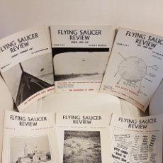 Libros de segunda mano: MÍTICA REVISTA UFOLÓGICA INGLESA FLYING SAUCER REVIEW - VOLUMEN 13 -Nº 1,2,3,4,5,6 - AÑO 1967- OVNIS. Lote 179557986