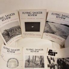 Libros de segunda mano: MÍTICA REVISTA UFOLÓGICA INGLESA FLYING SAUCER REVIEW - VOLUMEN 14 -Nº 1,2,3,4,5,6 - AÑO 1968- OVNIS. Lote 179558052