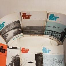 Libros de segunda mano: MÍTICA REVISTA UFOLÓGICA INGLESA FLYING SAUCER REVIEW - VOLUMEN 17 -Nº 1,2,3,4,5,6 - AÑO 1971- OVNIS. Lote 179558245