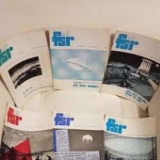 Libros de segunda mano: MÍTICA REVISTA UFOLÓGICA INGLESA FLYING SAUCER REVIEW - VOLUMEN 18 -Nº 1,2,3,4,5,6 - AÑO 1972- OVNIS. Lote 179558317
