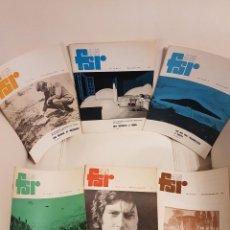 Libros de segunda mano: MÍTICA REVISTA UFOLÓGICA INGLESA FLYING SAUCER REVIEW - VOLUMEN 19 -Nº 1,2,3,4,5,6 - AÑO 1973- OVNIS. Lote 179558371