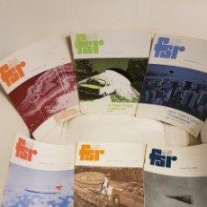 Libros de segunda mano: MÍTICA REVISTA UFOLÓGICA INGLESA FLYING SAUCER REVIEW - VOLUMEN 22 -Nº 1,2,3,4,5,6 - AÑO 1976- OVNIS. Lote 179558462