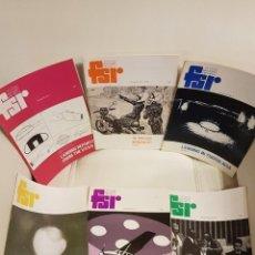 Libros de segunda mano: MÍTICA REVISTA UFOLÓGICA INGLESA FLYING SAUCER REVIEW - VOLUMEN 24 -Nº 1,2,3,4,5,6 - AÑO 1978- OVNIS. Lote 179558558