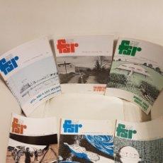 Libros de segunda mano: MÍTICA REVISTA UFOLÓGICA INGLESA FLYING SAUCER REVIEW - VOLUMEN 25 -Nº 1,2,3,4,5,6 - AÑO 1979- OVNIS. Lote 179558586