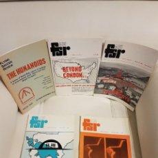 Libros de segunda mano: 5 MÍTICAS REVISTAS UFO INGLESA FLYING SAUCER REVIEW SPECIAL ISSUE - AÑOS 1966-69-71-73 - OVNIS. Lote 179559002
