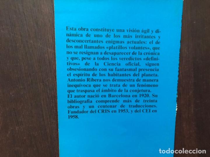Libros de segunda mano: Proceso a los ovni.. Antonio Ribera. - Foto 2 - 180150742