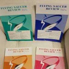Libros de segunda mano: MÍTICA REVISTA UFOLÓGICA INGLESA FLYING SAUCER REVIEW - VOLUMEN 41 - Nº 1,2,3,4 - AÑO 1996 - OVNIS. Lote 180419883