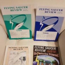 Libros de segunda mano: MÍTICA REVISTA UFOLÓGICA INGLESA FLYING SAUCER REVIEW - VOLUMEN 42 - Nº 1,2,3,4 - AÑO 1997 - OVNIS . Lote 180420407