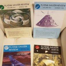 Libros de segunda mano: MÍTICA REVISTA UFOLÓGICA INGLESA FLYING SAUCER REVIEW - VOLUMEN 44 - Nº 1,2,3,4 - AÑO 1999 - OVNIS . Lote 180421390