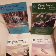 Libros de segunda mano: MÍTICA REVISTA UFOLÓGICA INGLESA FLYING SAUCER REVIEW - VOLUMEN 48 - Nº 1,2,3,4 - AÑO 2003 - OVNIS . Lote 180422285