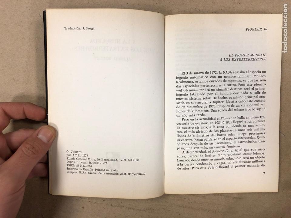 Libros de segunda mano: A LA BÚSQUEDA DE LOS EXTRATERRESTRES. ALFRED ROULET. EDITA: A.T.E. EN 1977. 190 PÁGINAS. - Foto 3 - 180422661
