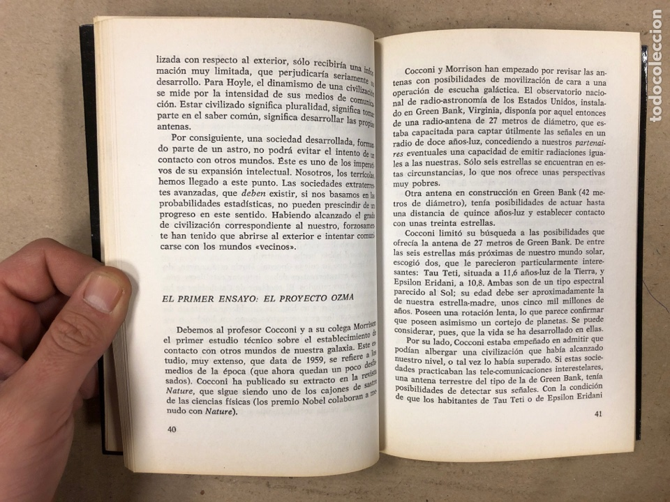 Libros de segunda mano: A LA BÚSQUEDA DE LOS EXTRATERRESTRES. ALFRED ROULET. EDITA: A.T.E. EN 1977. 190 PÁGINAS. - Foto 4 - 180422661