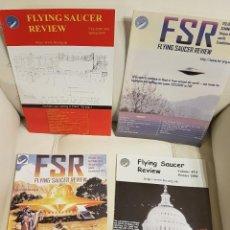 Libros de segunda mano: MÍTICA REVISTA UFOLÓGICA INGLESA FLYING SAUCER REVIEW - VOLUMEN 49 - Nº 1,2,3,4 - AÑO 2004 - OVNIS . Lote 180422685