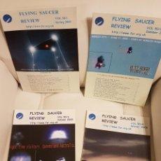 Libros de segunda mano: MÍTICA REVISTA UFOLÓGICA INGLESA FLYING SAUCER REVIEW - VOLUMEN 50 - Nº 1,2,3,4 - AÑO 2005 - OVNIS . Lote 180422881