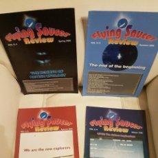 Libros de segunda mano: MÍTICA REVISTA UFOLÓGICA INGLESA FLYING SAUCER REVIEW - VOLUMEN 51 - Nº 1,2,3,4 - AÑO 2006 - OVNIS . Lote 180423180