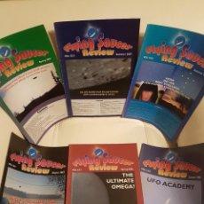Libros de segunda mano: MÍTICA REVISTA UFOLÓGICA INGLESA FLYING SAUCER REVIEW-VOL.52-53-Nº 1,2,3,4 Y 1,3-AÑO 2007-08-OVNIS . Lote 180423810