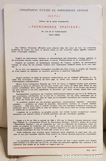 Libros de segunda mano: LES EXTRA-TERRESTRES/JADER U. PEREIRA/NÚMERO ESPECIAL DE LA REVISTA FRANCESA PHÉNOMÈNES SPATIAUX - Foto 2 - 180430736