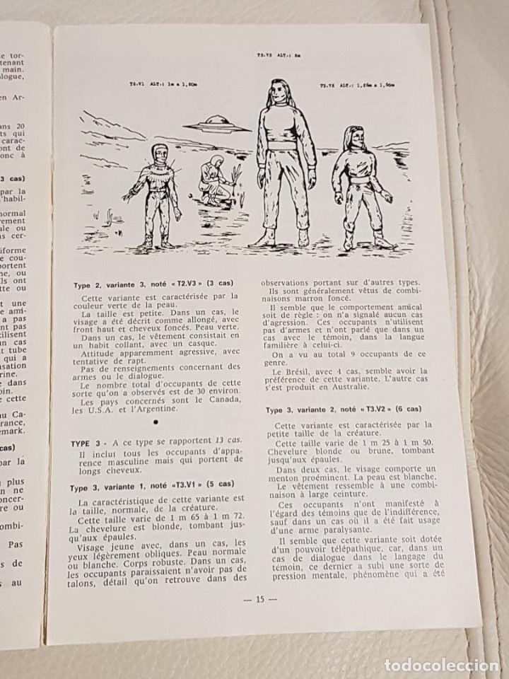 Libros de segunda mano: LES EXTRA-TERRESTRES/JADER U. PEREIRA/NÚMERO ESPECIAL DE LA REVISTA FRANCESA PHÉNOMÈNES SPATIAUX - Foto 3 - 180430736
