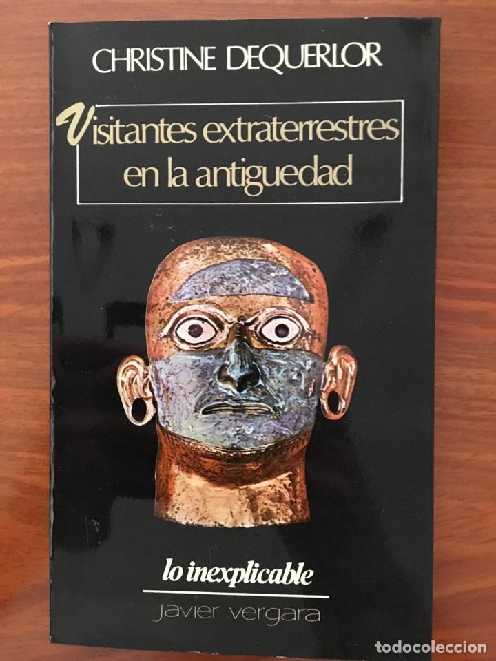 VISITANTES EXTRATERRESTRES EN LA ANTIGÜEDAD (Libros de Segunda Mano - Parapsicología y Esoterismo - Ufología)