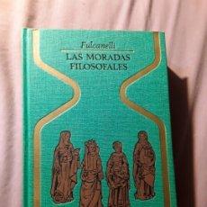 Libros de segunda mano: LAS MORADAS FILOSOFALES, DE FULCANELLI. OTROS MUNDOS, PLAZA Y JANES 1977.. Lote 180904250