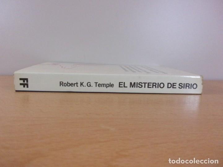 Libros de segunda mano: EL MISTERIO DE SIRIO / ROBERT K.G. TEMPLE / MARTINEZ ROCA. 1982 - Foto 3 - 182874451