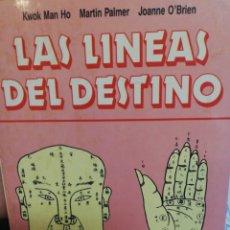 Libros de segunda mano: LAS LINEAS DEL DESTINO. Lote 182878136