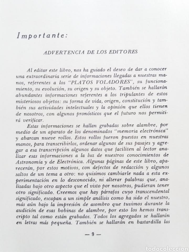 Libros de segunda mano: LOS PLATOS VOLADORES JORGE Y NAPY DUCLOUT 1953 ULTRA RARO UFOLOGIA OVNIS CONTACTISMO - Foto 2 - 184672208